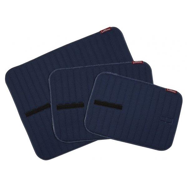 LeMieux Memory Foam Bandage Pads-Navy